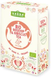 Rosehip & Hibiscus Tea - BIO