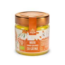 Creamed Honey with Sea Buckthorn - BIO - Raw - 260g