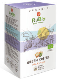 Green Coffee with Ginger - BIO