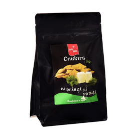 Cheese and Herbs Crackers - BIO - 150g