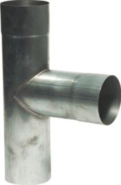 T-stuk 90 graden - 80mm zink