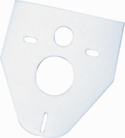 Geluidsisolatieset wandcloset - schuimpje