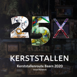 25x Kerststallen - Kerststallenroute Baarn 2020