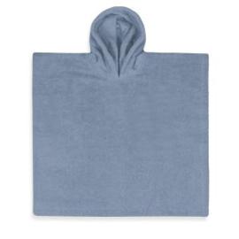 Poncho Funnies Grey/Blue