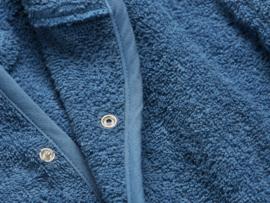 Jollein badstof badjasje jeans blue