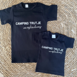 Shirtje  |  Camping trutje in opleiding