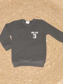 Sweater  |  Naam en getal