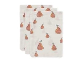 Jollein  washandjes pear 3-pack