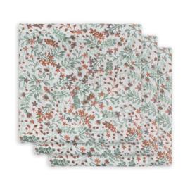 Jollein hydrofiele multidoek small 70x70cm Bloom 3-pack