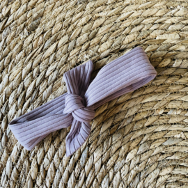 Haarband purple dove rib