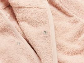 Jollein badstof badjasje pink pale