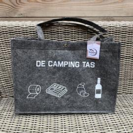 De camping tas