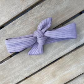 Haarbandje purple dove rib