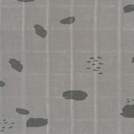 Jollein washandjes Spot storm grey 3-pack