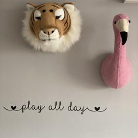 Muursticker  |  Play all day