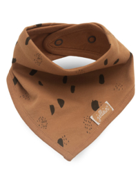 Jollein bandana Spot storm grey/caramel 2-pack
