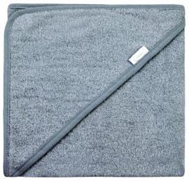 Funnies badcape Grey/blue 100x100 cm