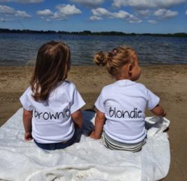 Shirtje  |  Blondie of Brownie