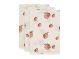Jollein  washandjes peach 3-pack