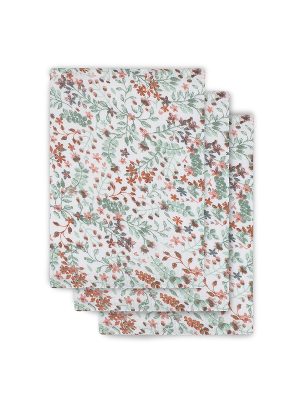 Jollein  washandjes Bloom 3-pack