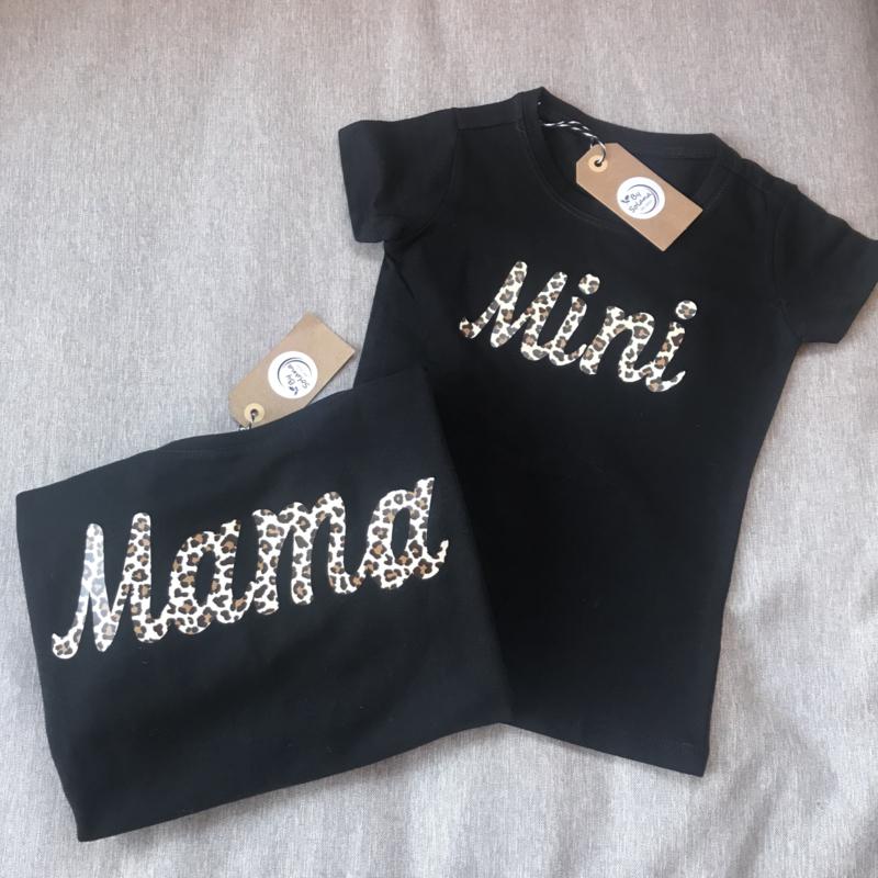 Shirt  |  Mama panterprint