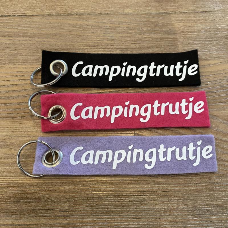 Vilten sleutelhanger enkel  |  Campingtrutje