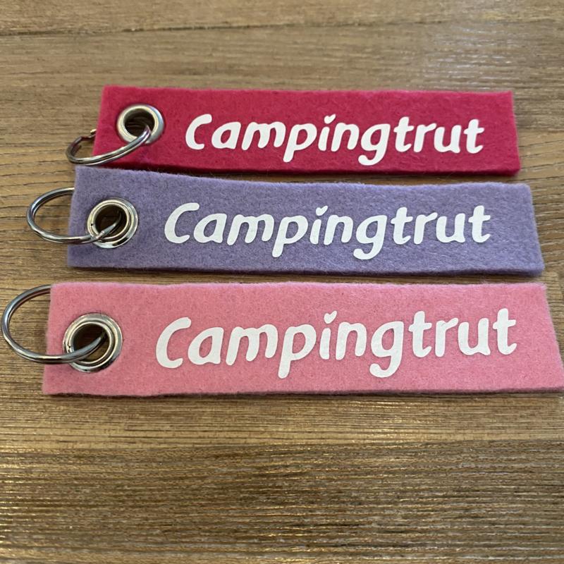 Vilten sleutelhanger enkel     Campingtrut