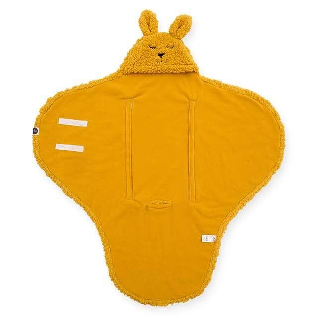 Jollein wikkeldeken  |  Bunny mustard