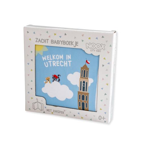 Noox city kids  |  Zacht babyboekje Utrecht