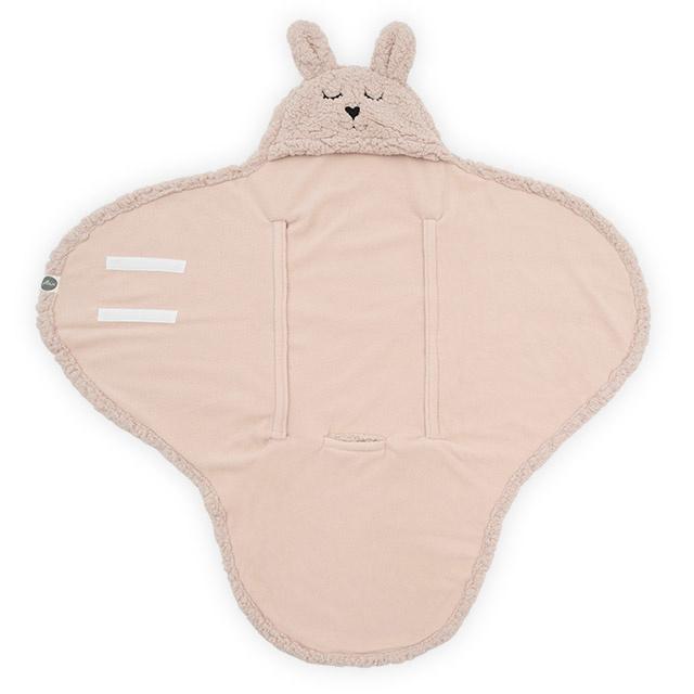 Jollein wikkeldeken  |  Bunny pale pink