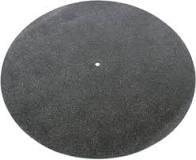 Tonar zwart leren mat
