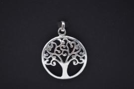Tree of Life hanger 925 zilver