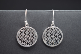 Flower of Life messing zilverkleurig