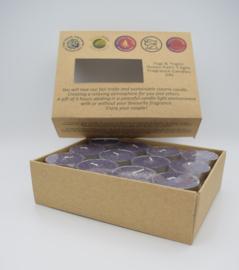 Fairtrade theelichtjes lavendel