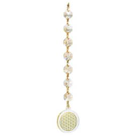 Feng Shui Flower of Life champagne