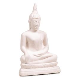 Boeddha geursteen wit