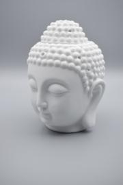 Olieverdamper Boeddha Hoofd wit