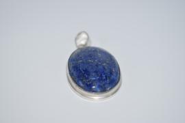 Lapis Lazuli hanger India zilver
