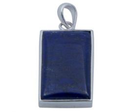 Lapis Lazuli hanger 925 zilver