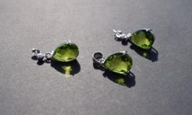 Olivijn sieradenset 925 zilver