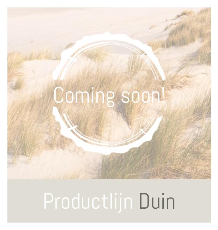 Productlijn Duin, zachte verzorgingsproducten   Beleving