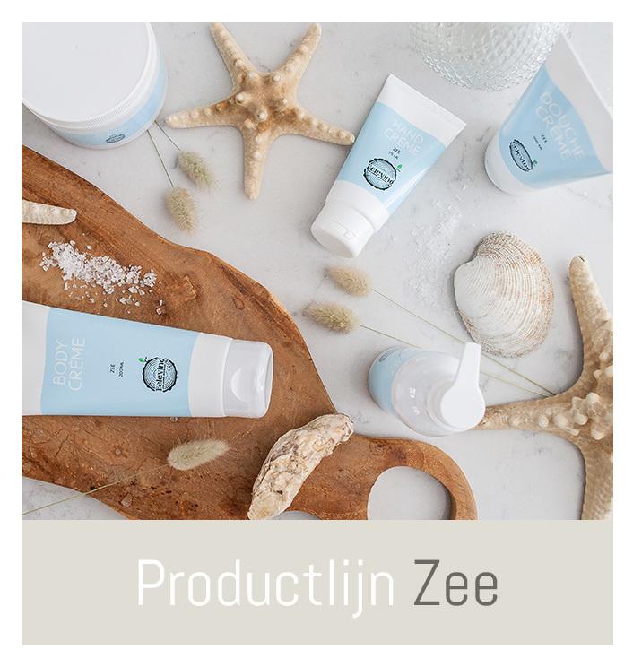 Productlijn Zee, frisse verzorgingsproducten   Beleving