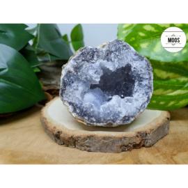 Blauwe Chalcedoon - Geode 26
