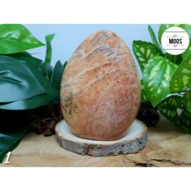 Perzik Maansteen - Sculptuur XL7 - NIEUW