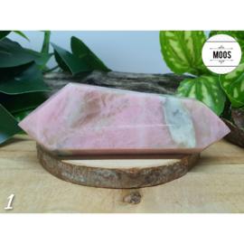 Roze Maansteen - Dubbeleinder sculptuur XL3