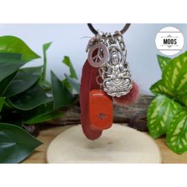 Sleutelhanger - Rode Jaspis