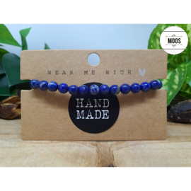 Powerbeadsbandje - Lapis Lazuli