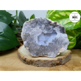 Blauwe Chalcedoon - Geode 16