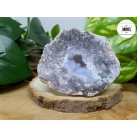 Blauwe Chalcedoon - Geode 25