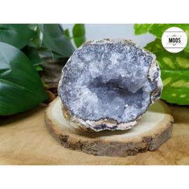 Blauwe Chalcedoon - Geode 36